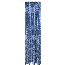 image-Leon Tape Patterned Tab Top Semi Sheer Single Curtain Breakwater Bay