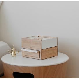 image-Mini Stowit Jewellery Box Umbra Colour: Natural/White