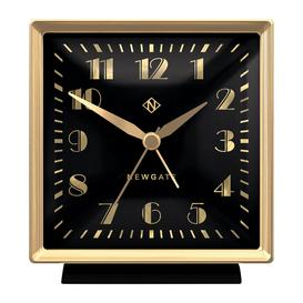 image-Newgate Clocks - Skyscraper Alarm Clock - Black