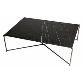 image-Bedell Coffee Table Ebern Designs Colour (Table Base): Metal, Colour (Table Top): Black