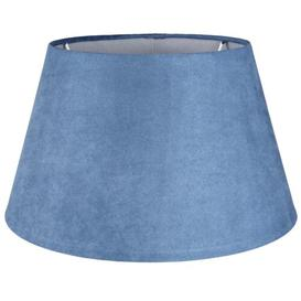 image-30cm Velvet Empire Lamp Shade (Set of 2) Symple Stuff Finish: Blue