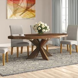 image-Delrio Cross Dining Table Union Rustic