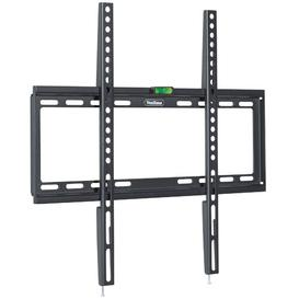 "image-Fixed Universal Wall Mount for 32""-55"" LED, LCD, Plasma TV VonHaus"