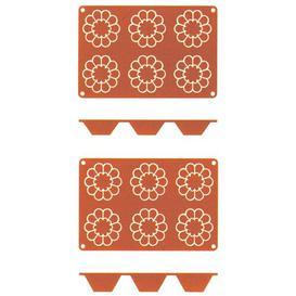 image-Briochette Backing Mat Symple Stuff Size (briochette): 3 cm x 7.9 cm x 7.9 cm