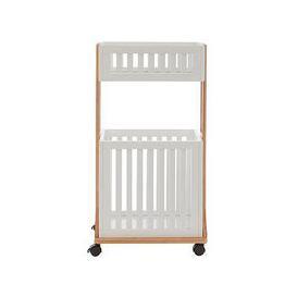image-Premier Housewares Nostra 2 Tier Storage Trolley