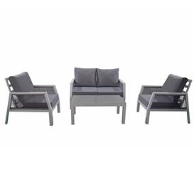 image-Signature Weave Garden Furniture Bettina 4 Seat Sofa Set