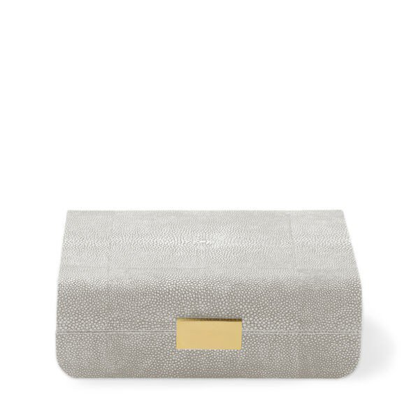 image-Aerin Modern Shagreen Jewellery Box