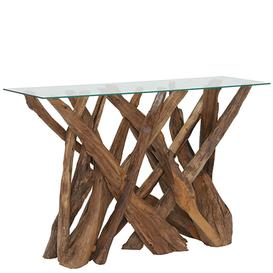 image-Whinfell Reclaimed Teak Root Console Table