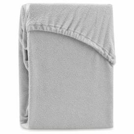 image-Hester 130 Thread Count Fitted Sheet Symple Stuff Size: Emperor (7'), Colour: Silver
