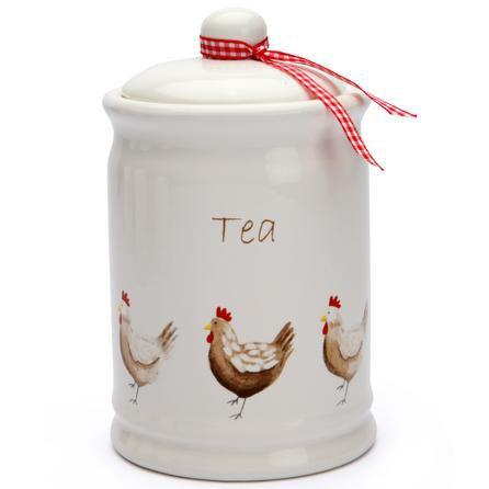 image-Henrietta Tea Canister Cream