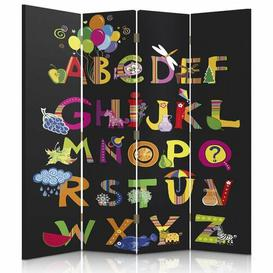 image-Vandergriff 4 Panel Room Divider Mercury Row