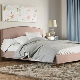 image-Upholstered Bed Frame Fairmont Park Size: Super King (6'), Colour: Mink