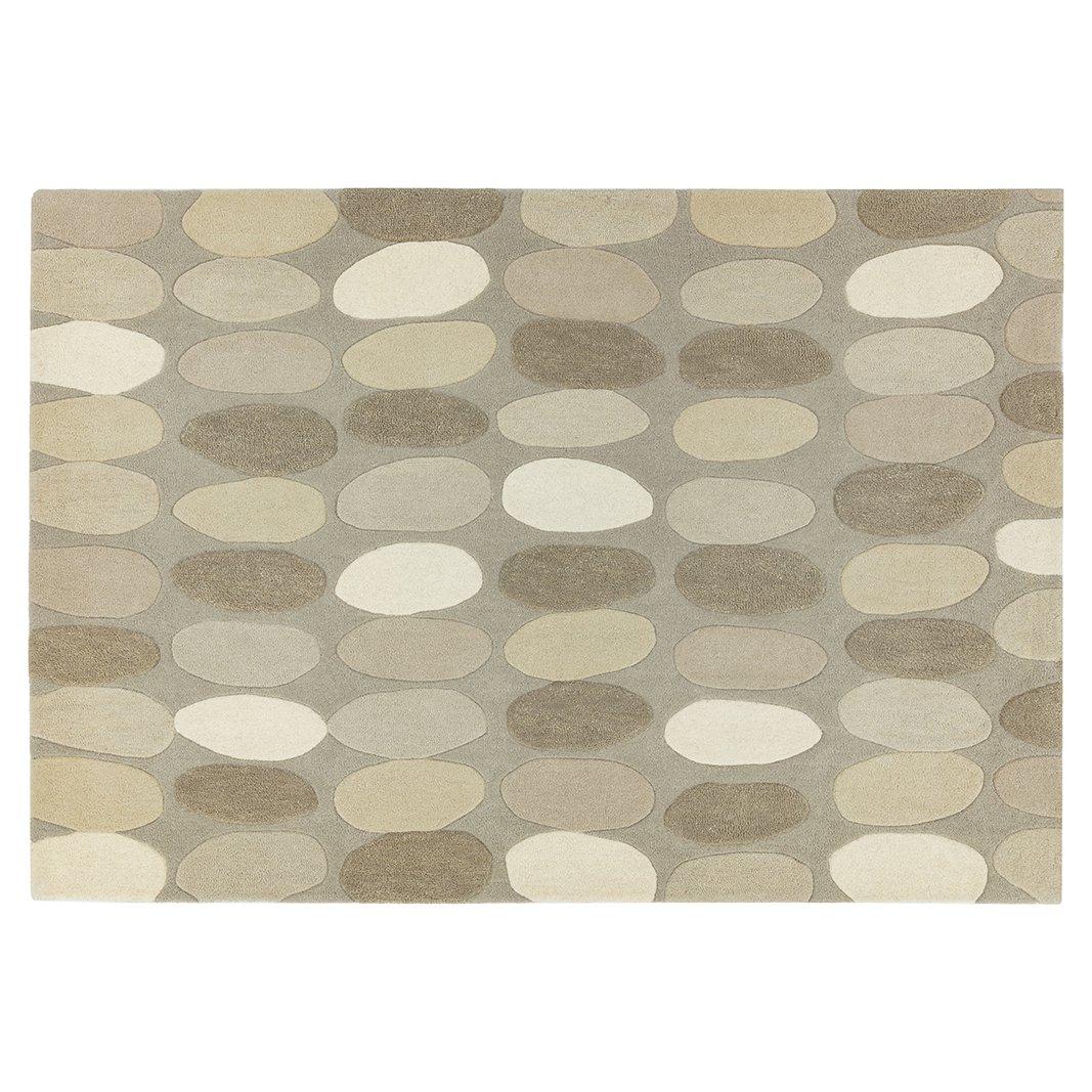 image-Pebbles Wool Rug 120x170cm , Natural