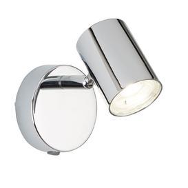 image-Searchlight 3171CC Rollo One Light Wall Spotlight In Chrome