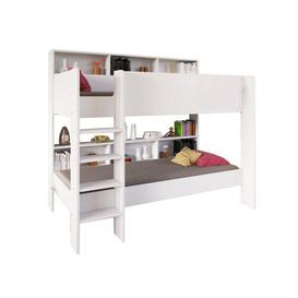 image-Carey Single Bunk Bed with Shelves Isabelle & Max