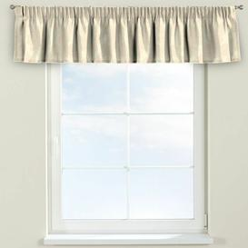 image-Damasco Curtain Pelmet Dekoria Size: 390cm W x 40cm L, Colour: Pale Yellow
