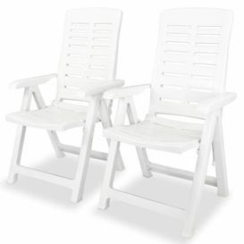 image-Itzel Folding Garden Chair Zipcode Design Colour: White