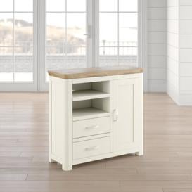 "image-Baylor Entertainment Unit for TVs up to 32"" Beachcrest Home Colour: Stone Paint"