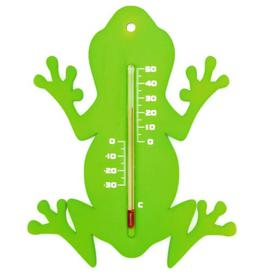 image-Bannan Outdoor Wall Thermometer Frog Happy Larry
