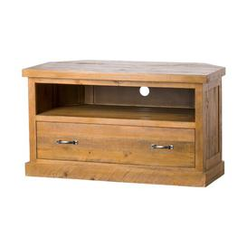 """image-Charette Corner TV Stand for TVs up to 50\"""" Union Rustic"""