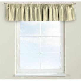 image-Panama Curtain Pelmet Dekoria Size: 130cm W x 40cm L, Colour: Beige