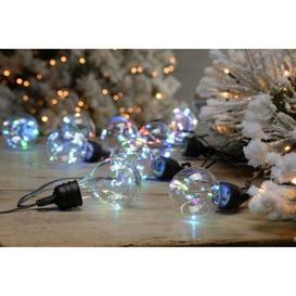 image-10 LED Twinkling Bulb Set Of 10 Outdoor String Light Pastel 4.5m