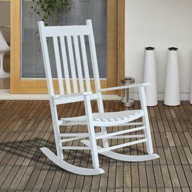 image-Alinn Rocking Chair Mack + Milo Colour (Frame): White