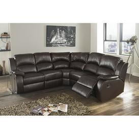 image-Wathen Reclining Modular Corner Sofa Brayden Studio Upholstery Colour: Brown