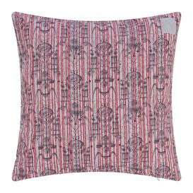 image-Zoeppritz since 1828 - Believe In Centuries Cushion - 40x40cm - Red