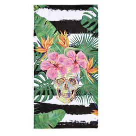 image-Summer Skull Beach Towel Bay Isle Home