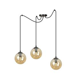 image-Garnes 3-Light Globe LED Pendant Corrigan Studio