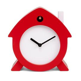 image-Cuckoo Children's Clock Ebern Designs Colour: Red