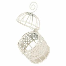 image-Palaiseur Wire Mesh Decorative Bird House Lily Manor Colour: Ivory