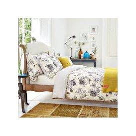 image-Joules Bedding, Imogen Single Duvet Cover, Cream
