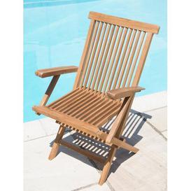 image-Castillon Folding Garden Chair Dakota Fields
