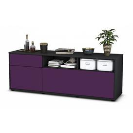 """image-Yeates TV Stand for TVs up to 39\"""" Brayden Studio Colour: Purple / Matte Anthracite"""