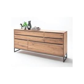 image-Norwich Wooden Sideboard In Wild Oak With 6 Drawers