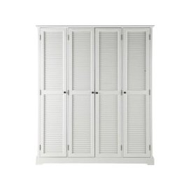 image-White Closet 4-doors Barbade