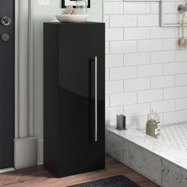 image-HS 35 x 100cm Wall Mounted Cabinet Belfry Bathroom Finish: Concrete