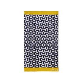 image-Joules Honeycomb Geo Hand Towel, Comet