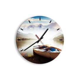 image-Brierley Silent Wall Clock Union Rustic