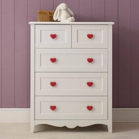 image-Princess 5 Drawer Chest The Children's Furniture Company
