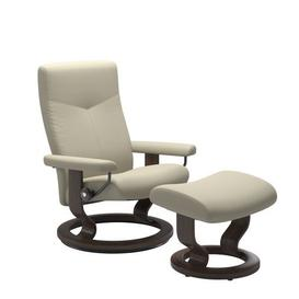 image-Stressless Dover Chair with Classic Base