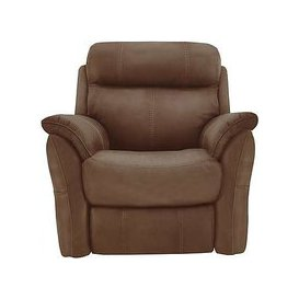 image-Relax Station Revive Fabric Armchair - Brown