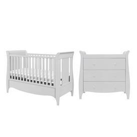 image-Roma Space Saver 2-Piece Nursery Furniture Set Tutti Bambini Colour: Dove Grey