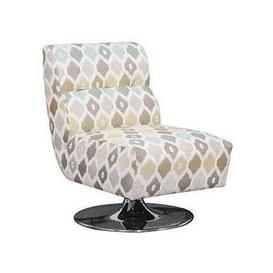 image-Buoyant Harris Swivel Fabric Chair