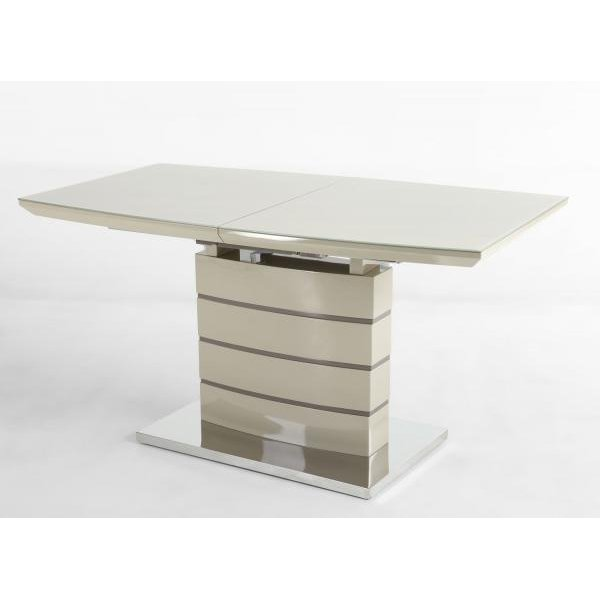 image-Penthouse High Gloss Furniture Galcier 180cm Extending Dining Table