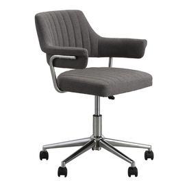 image-Radoni Charcoal Swivel Chair