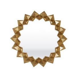 image-Montana Gold Sunburst Mirror - 86cm x 86cm