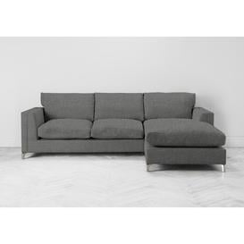 image-Chris Right Hand Chaise Sofa Bed in Platypus Bay